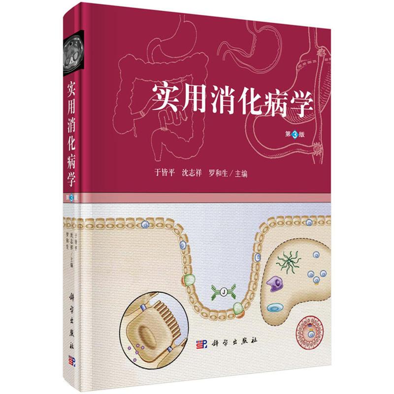 实用消化病学(第三版)于皆平,沈志祥,罗和生主编